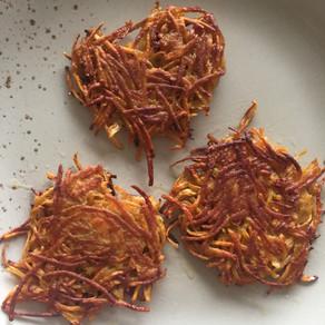 Süßkartoffel-Rösti