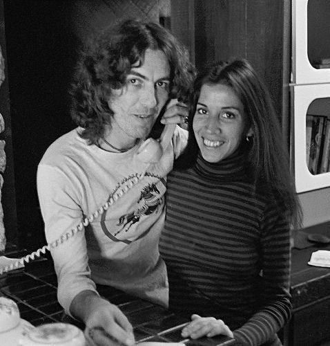 George Harrison and Olivia | Rock Auto Club