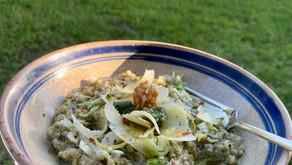 Risotto aux Pesto d'Orties et Noix