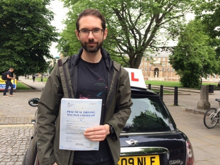 Well done Dr Chris. A great result. Congratulations with passing with only a couple of minor faults.