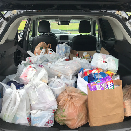 IS Gives Back: Food Drive