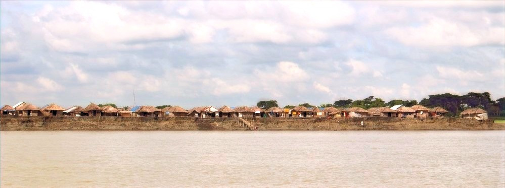 Villages Boue Sundarbans au Bangladesh