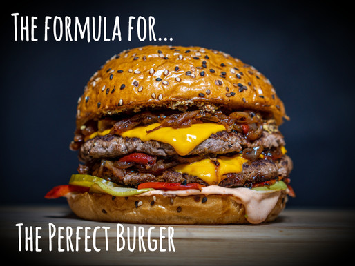 The Formula For The Perfect Burger