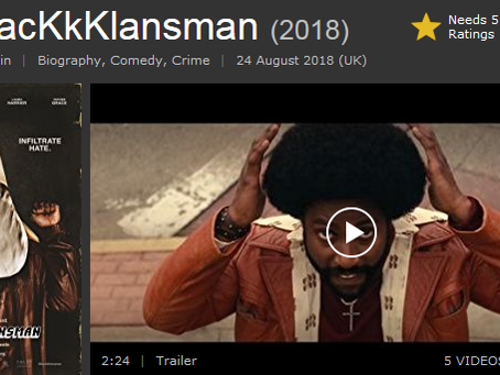 BlacKkKlansman by Spike Lee (and others)