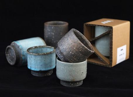 アセミコの伊賀焼カップ