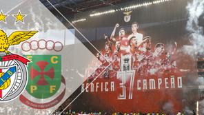 Antevisão SL Benfica x Paços de Ferreira