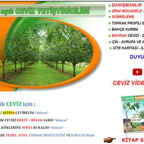 Ceviz.com.tr Yenilenen Yüzüyle 19.Yaşında...