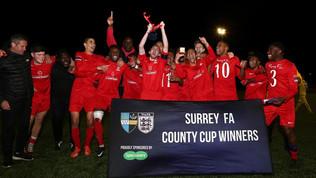 U21's Cup Winners