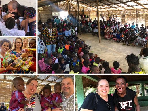 Família Souza faz uma viagem á Guiné-Bissau (África) e ficam emocionados ao rever alguns Guineenses