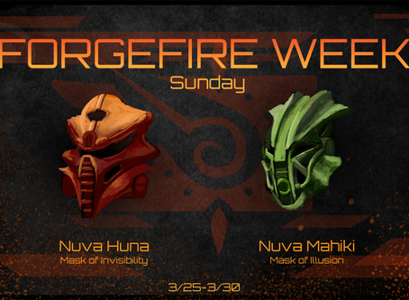 FORGEFIRE Sunday: Masks of Mischief