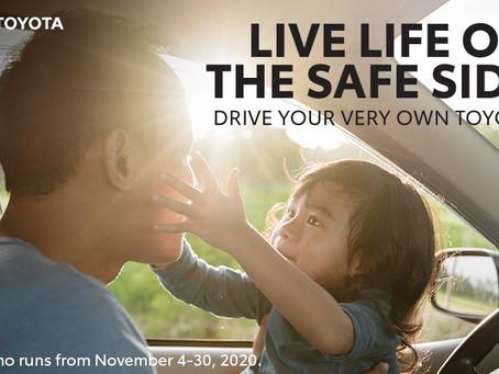 TOYOTA'S Safe Side DEALS