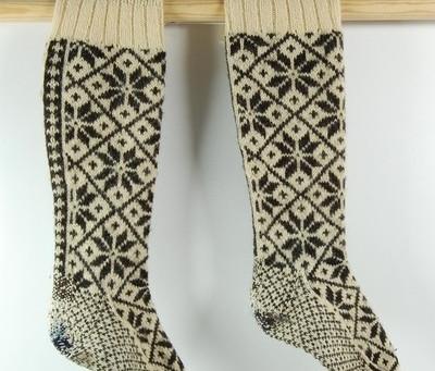 Selbu Sock - Knitting the Historic Toe! Part 2