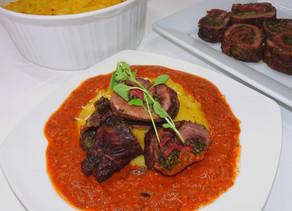 Gluten Free Braciole (Italian Beef Roll)