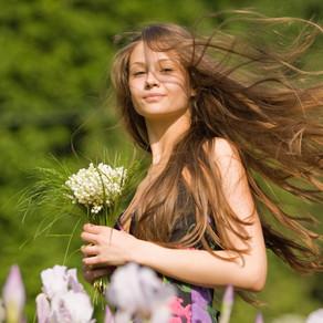 Здоровые и ухоженные волосы – символ женственности