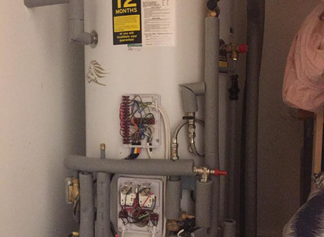 Unvented Cylinder Service - Whats included?