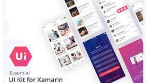 Xamarin İçin Ücretsiz UI Kit