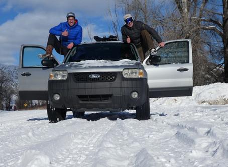 Winter Trip durch die Rocky Mountains