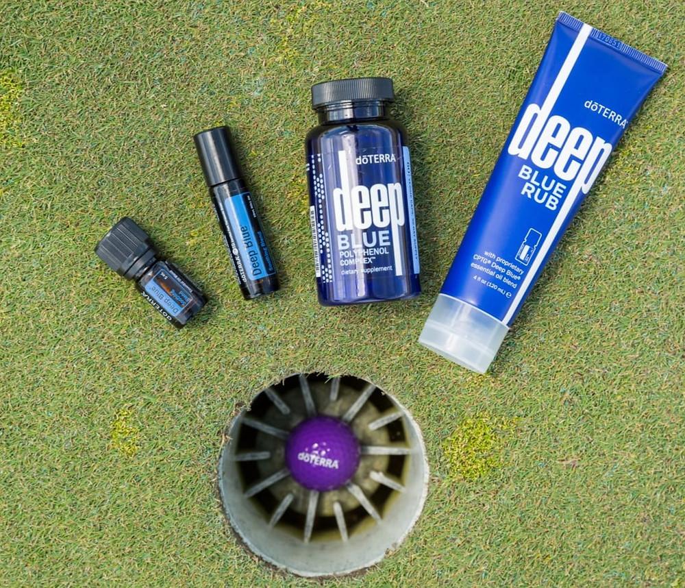 doterra essential oils deep blue