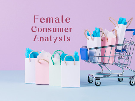 5 Points you should know about female consumer analysis