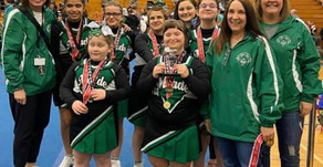 Special Olympics cheerleaders win state