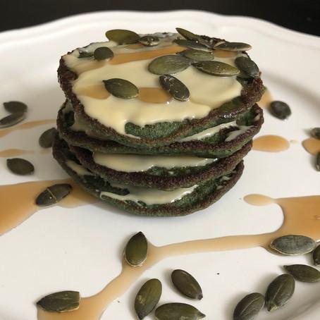 Spirulina super-pancakes