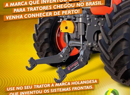 Show Rural: Braços frontais e máquinas importadas são destaques no stand da Bouwman