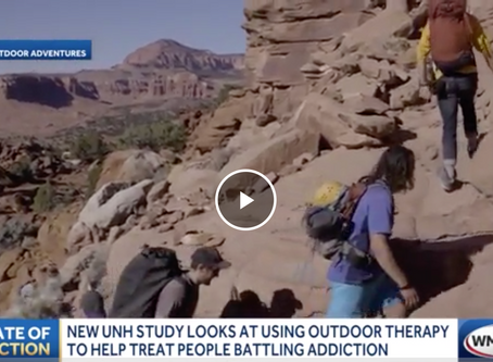 Breaking news: New study looks at using outdoor therapy to help people who are battling addiction