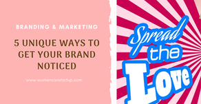 5 unique ways to get your brand noticed