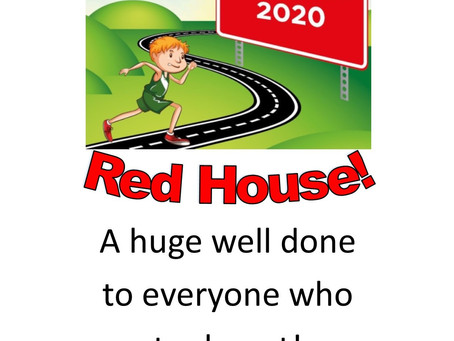 Congratulations to Red House who were the winners of Virtual Sports Day!