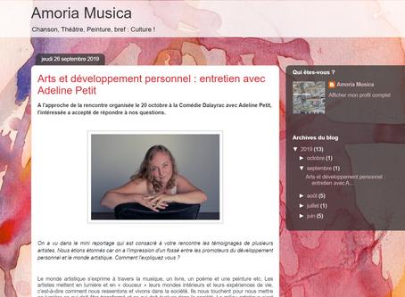 Entretien avec Amoria Musica