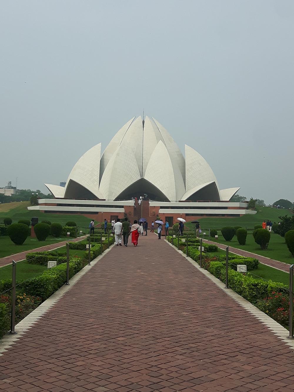 India, Delhi, Lotus Temple