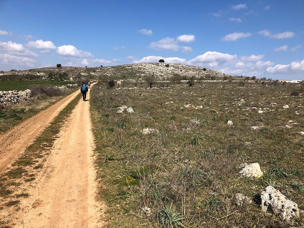 Camminando sulla Murgia da Bari a a Matera