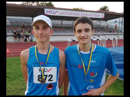 NÖ Leichtathletik Landesmeisterschaften Gold für Damjan, Bronze für Paul !