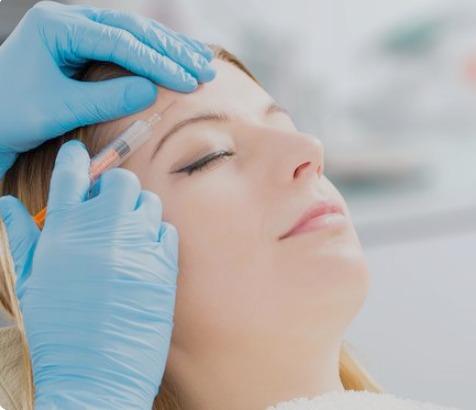 forehead botox at carrara aesthetics