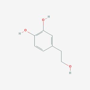 Hydroxytyrosol in Olivenöl - evoo ag (Bild: PubChem - Open Chemistry Database)