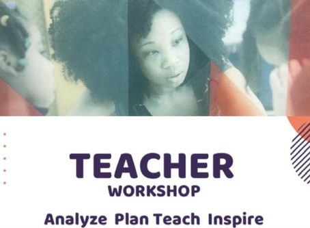 Analyze. Plan. Teach. Inspire.--Sarah Frayer...Making a Difference!