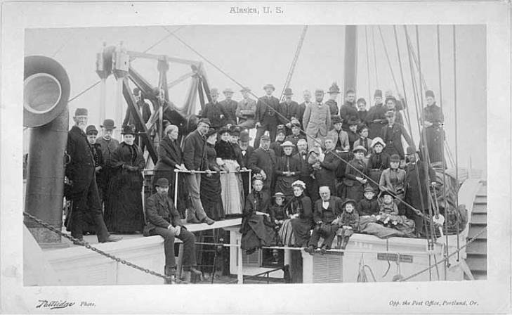Passengers Ancon 1887