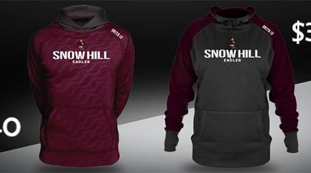 Snow Hill Hoodies Sale Benefits Indoor Track