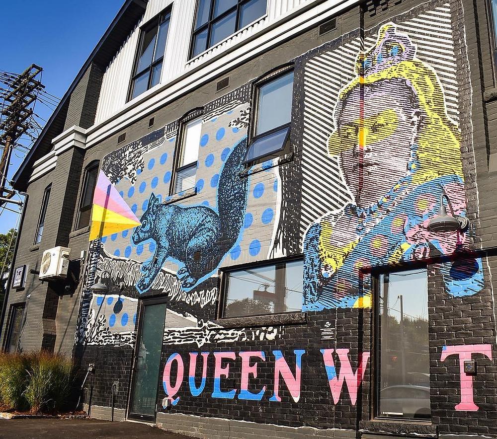 Queen Street Graffiti Mural Tour Canada