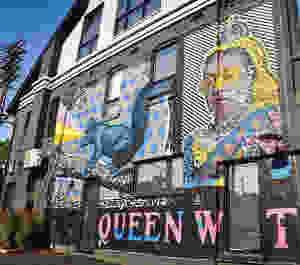 Queen Street Graffiti Mural Tour Canada