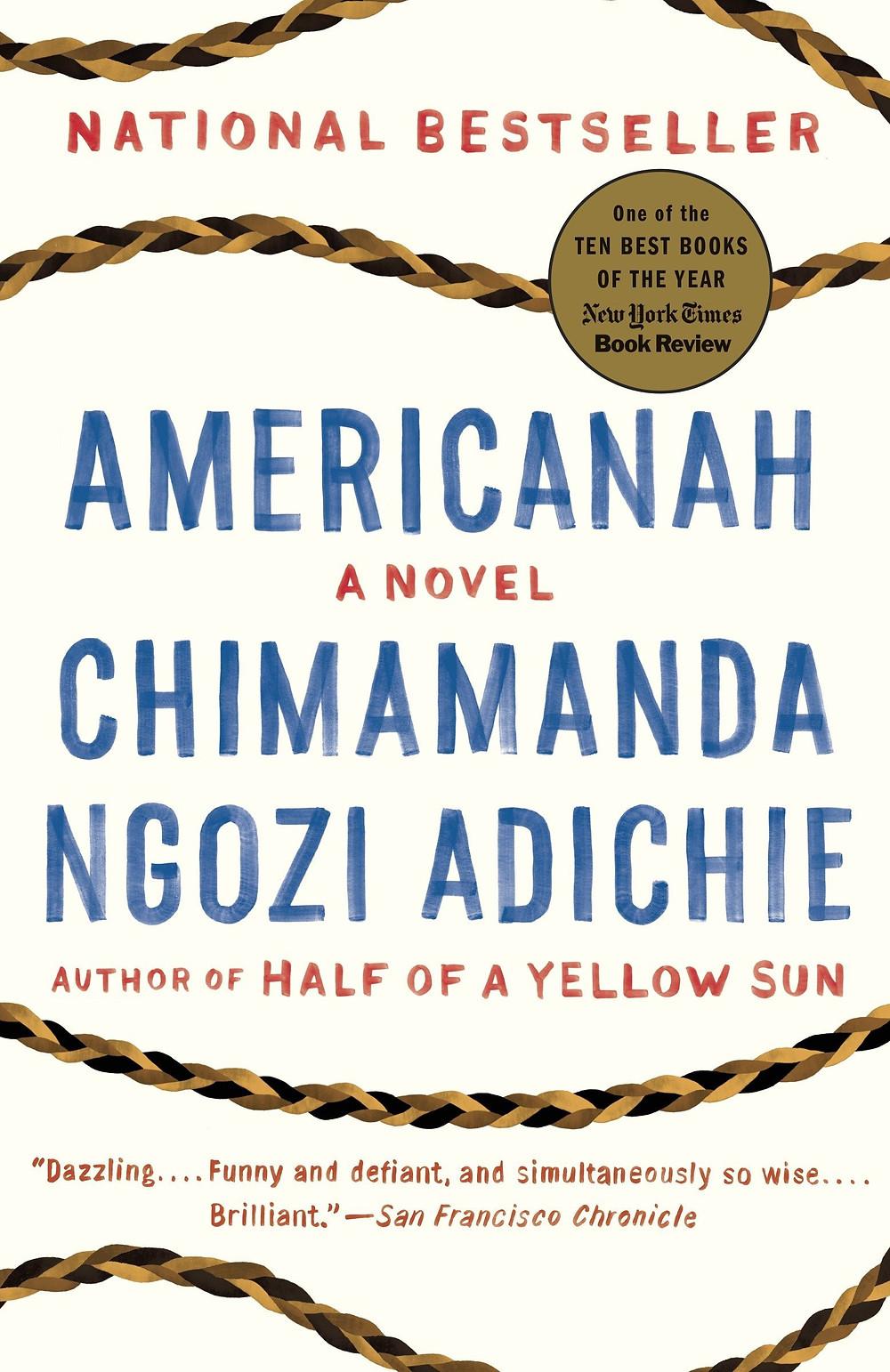 Americanah by Chimamanda Ngozi Adiche : the book slut book reviews