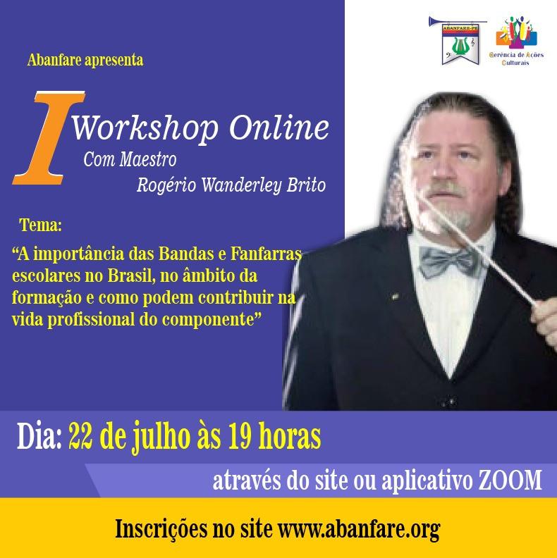 Palestra Online Rogerio Wanderley Brito