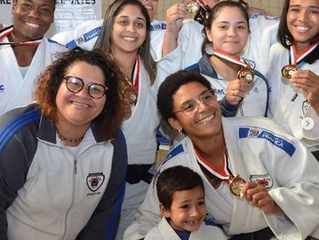 JUDO FEMININO É CAMPEÃO DOS JOGOS REGIONAIS 2019