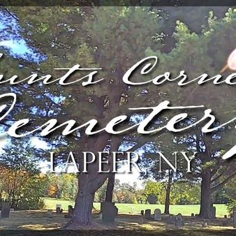 Hunts Corners Cemetery in Lapeer, New York (video)