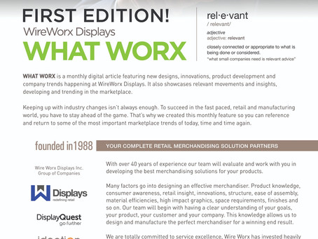 WHAT WORX Monthly First Edition