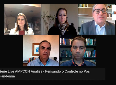 """AMPCON ANALISA"": especialistas debateram as perspectivas do controle no pós-pandemia"
