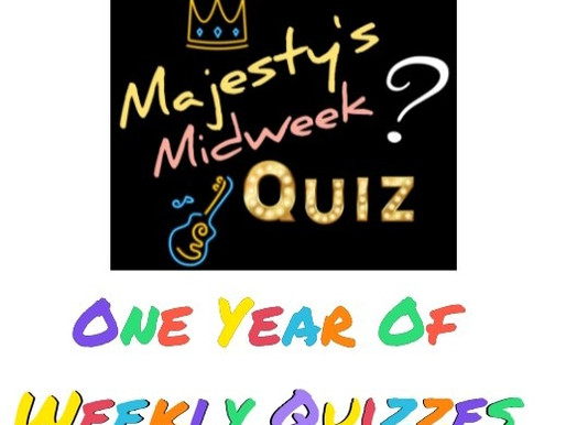 Quiz - One Year Of Weekly Quizzes