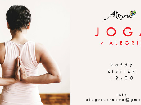 Joga s Jankou v Alegrii