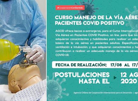 Cooperación Sur-Sur de Chile: Convocatoria de becas para profesionales de la salud - COVID-19