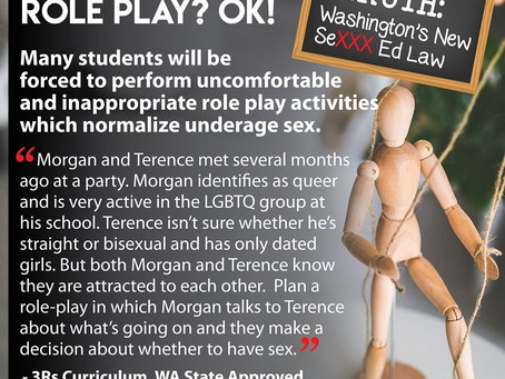 Role Play Teaching Children to Consent To Sex